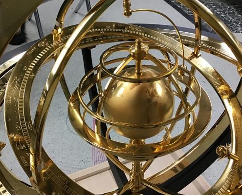 Miki Eleta - Armillary sphere 2019